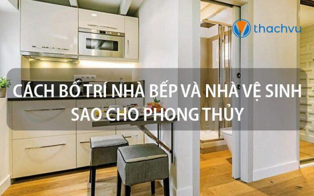 nhà bếp và nhà vệ sinh