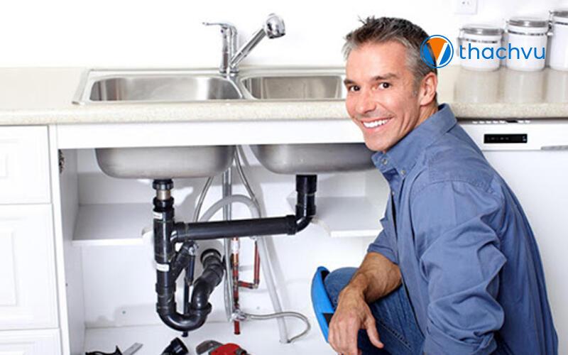 Cách lắp đặt chậu rửa bát