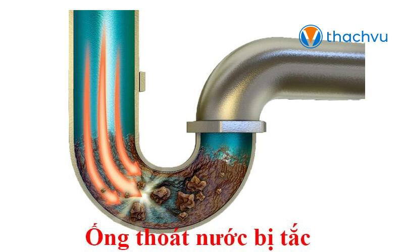 Cách thông ống nước thải bị tắc